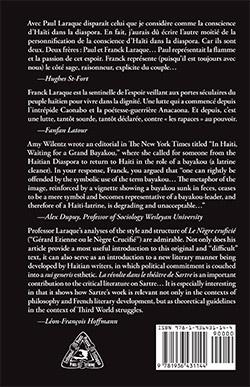 Le quatrième de couverture de «L'instrumentalisation de la pensée révolutionnaire».